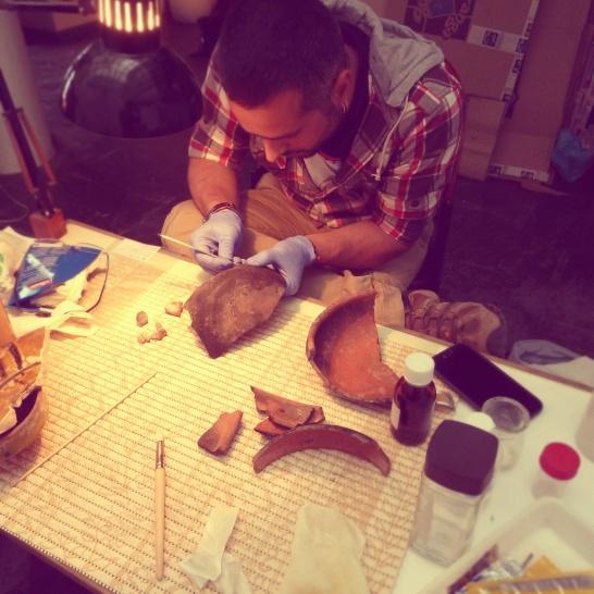 Tratamento de materiais arqueológicos