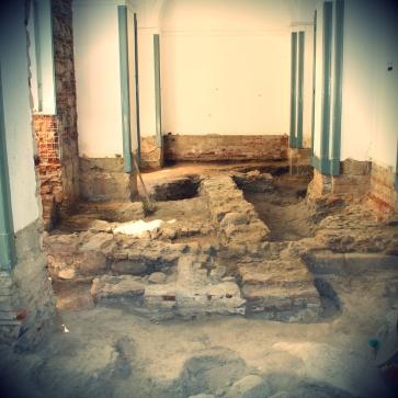 Vestígios arqueológicos da Casa da Moeda